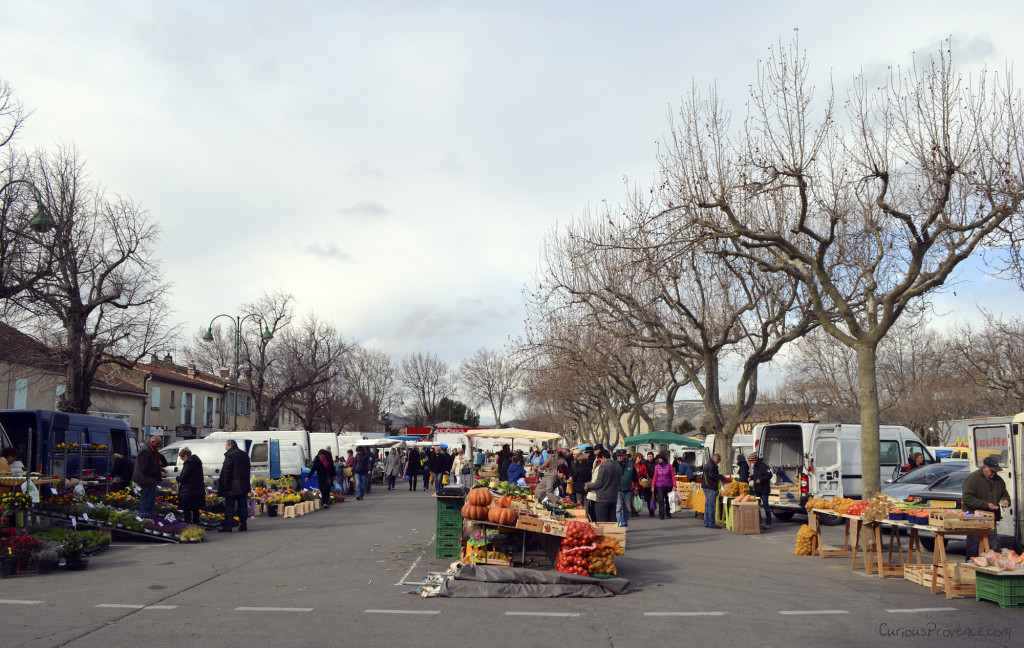Sénas Market Provence