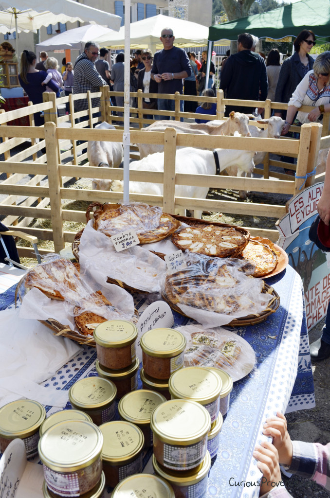 goat cheese festival provence