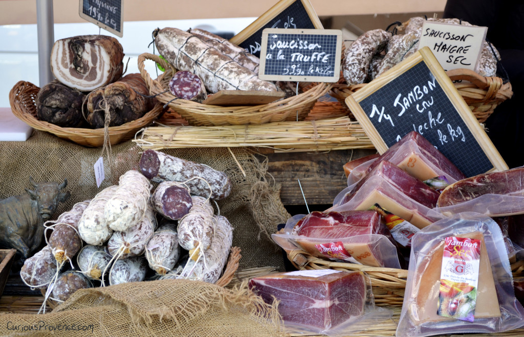 cured meats Provence France