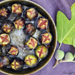 Roasted figs provence