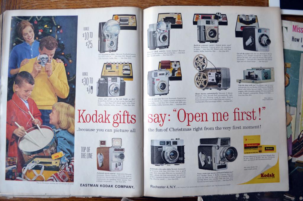 kodak for christmas 1960