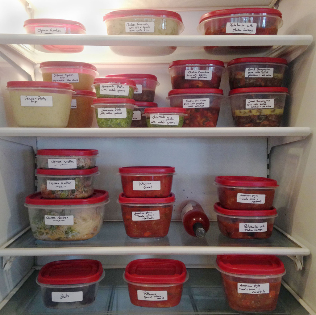 homemade freezer meals