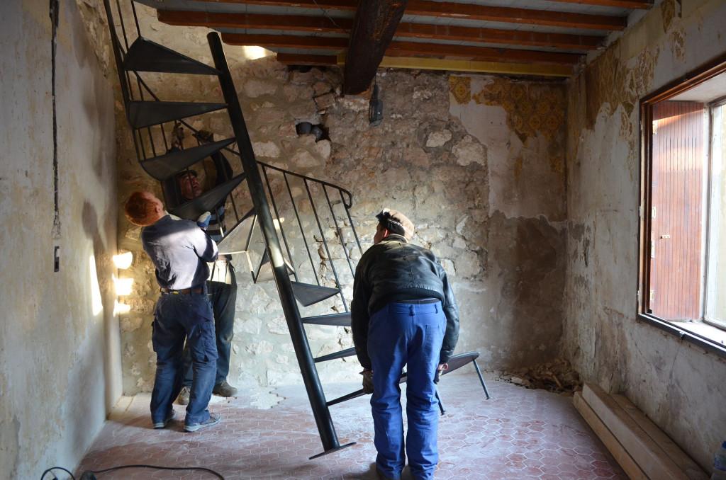installation escaliers