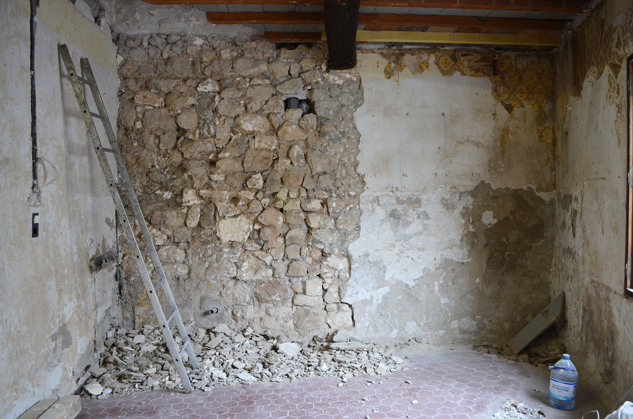Diy Stone Wall Provence