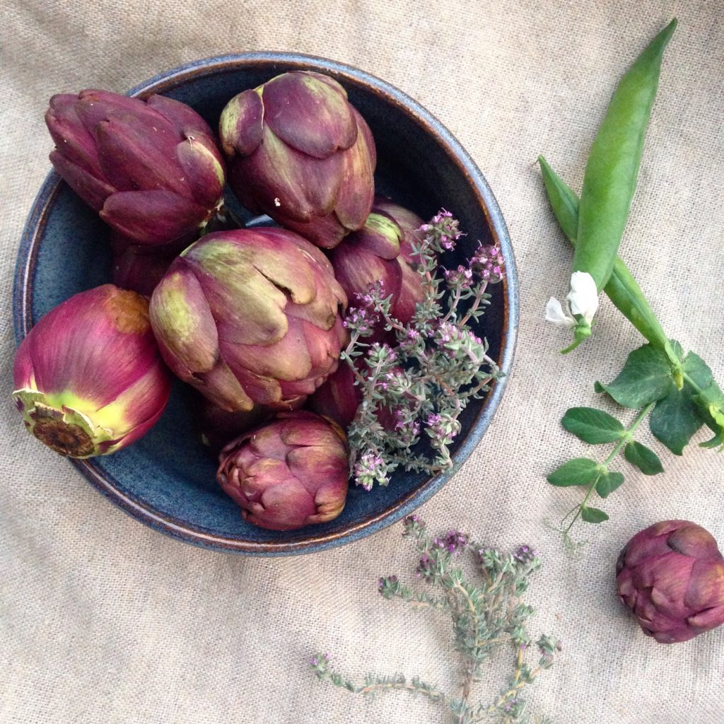 spring vegetables provence