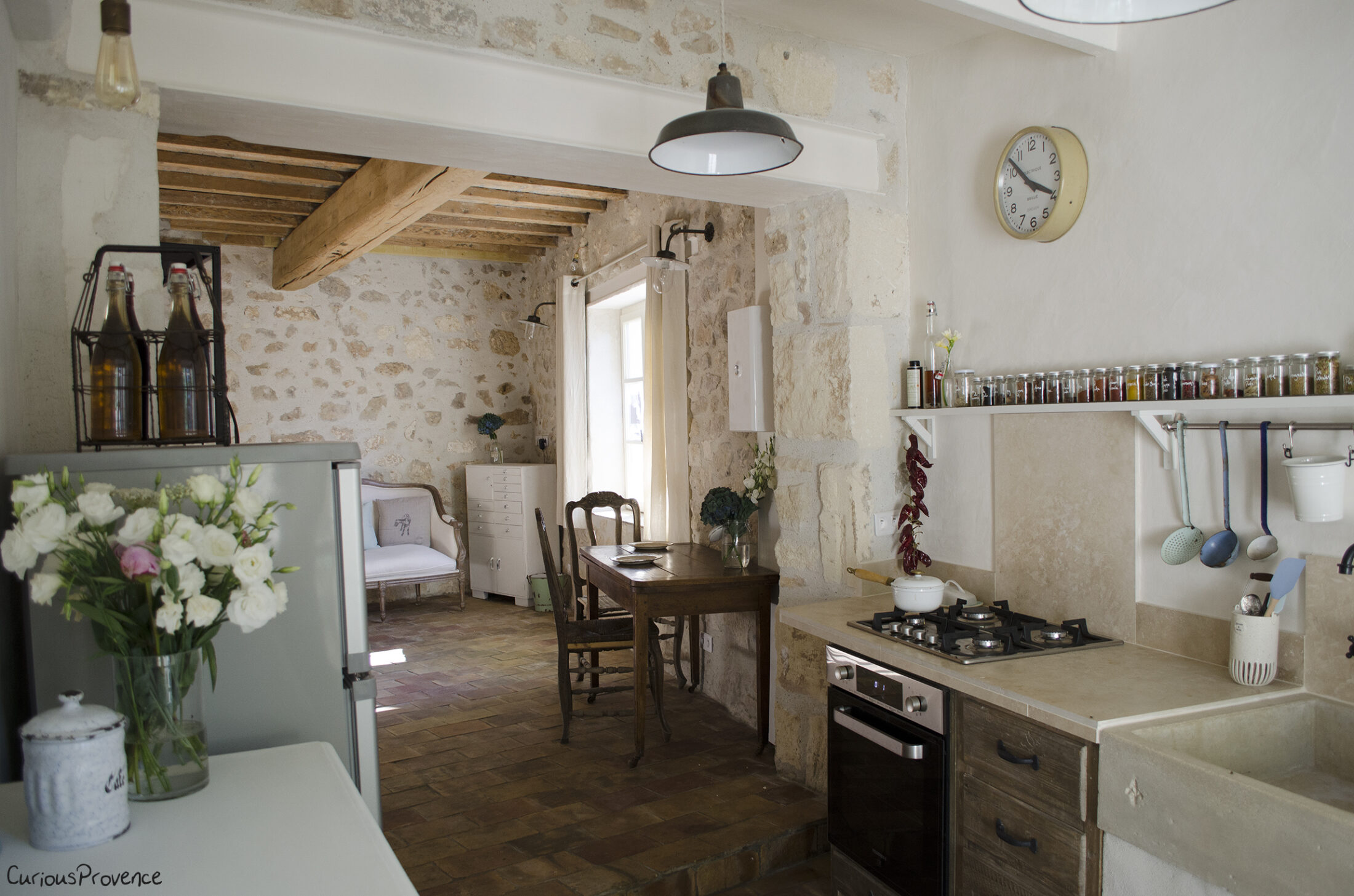 Renovation In Provence Kitchen Reveal Curious Provence