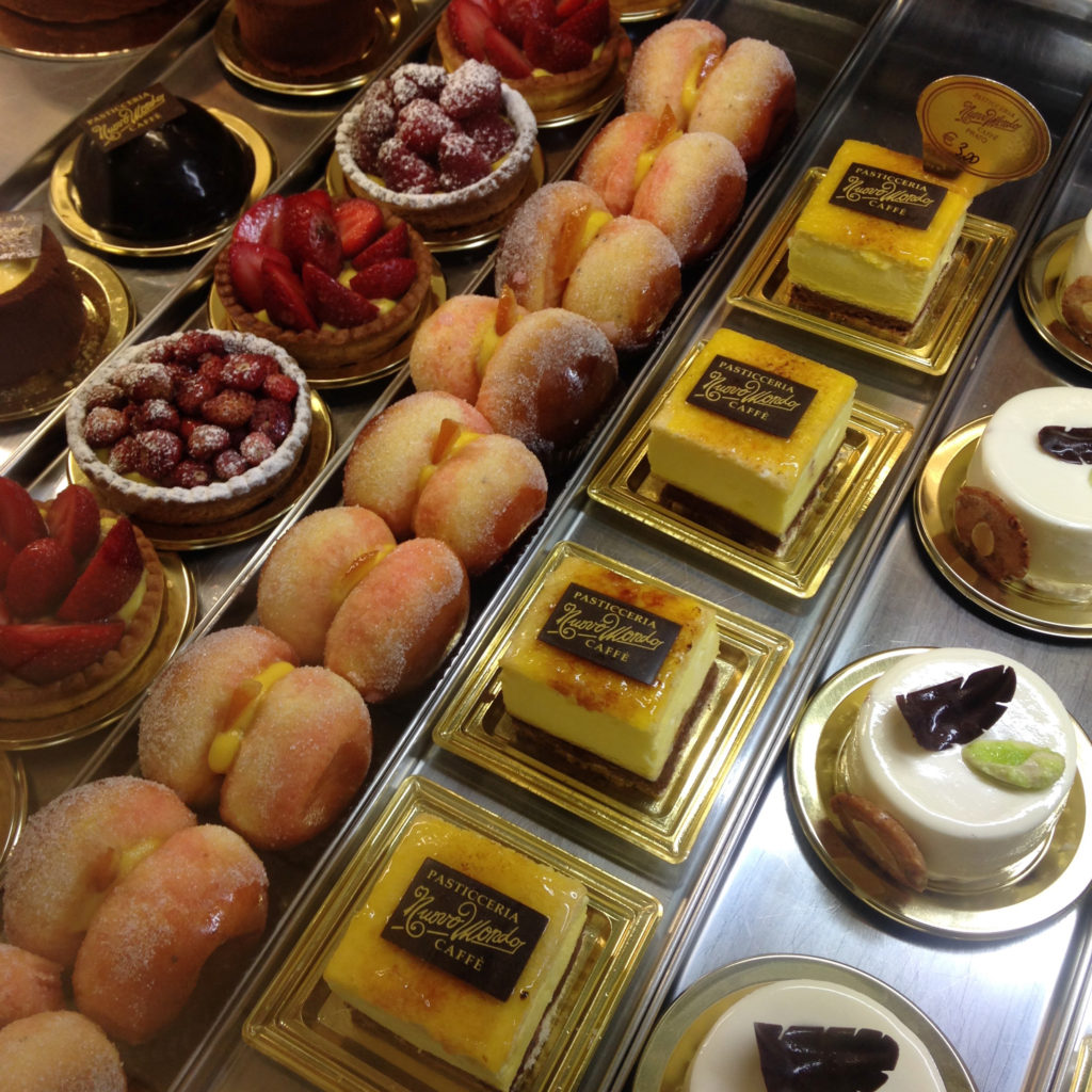 pastries in prato