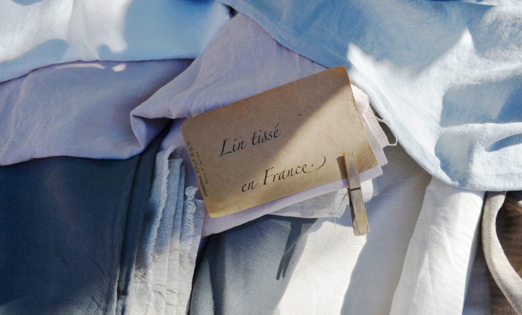 linen in french market