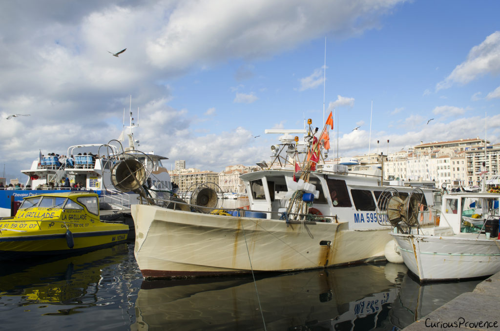 marseille fishing boat