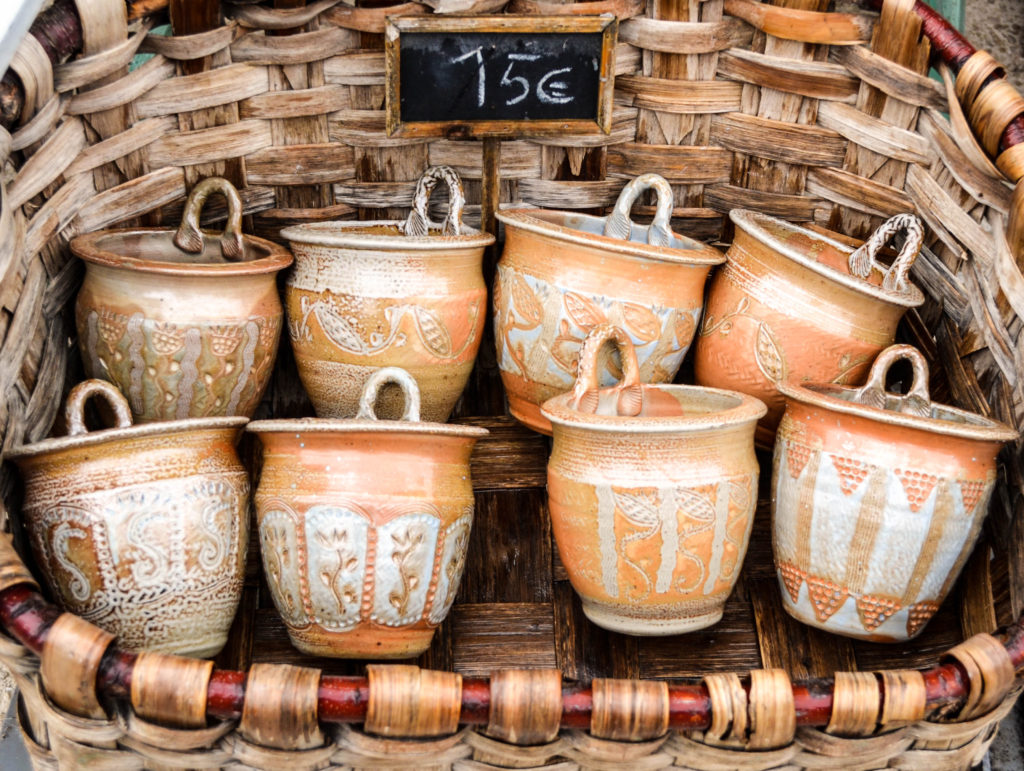 provencal pottery