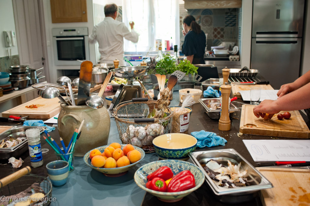 cooking class provence