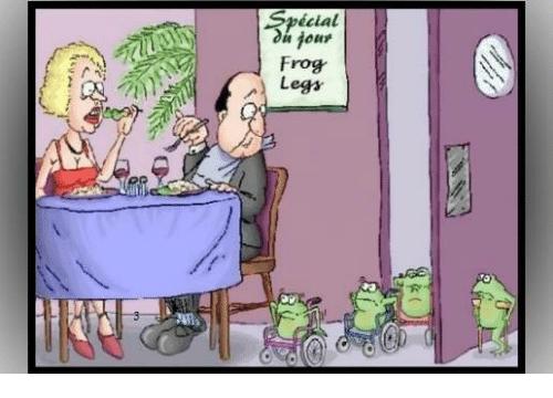frogs legs