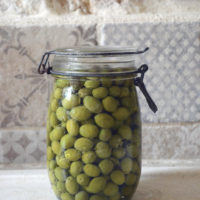 green olives curious provence