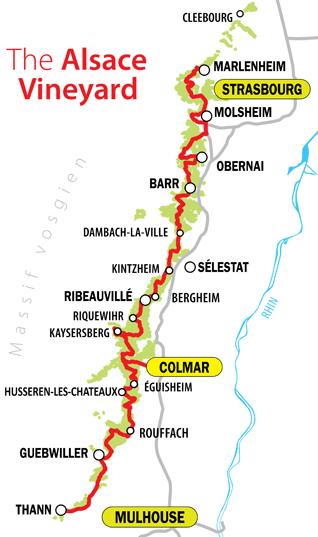 alsace karta 5 Villages to Visit in Alsace, France   Curious Provence alsace karta