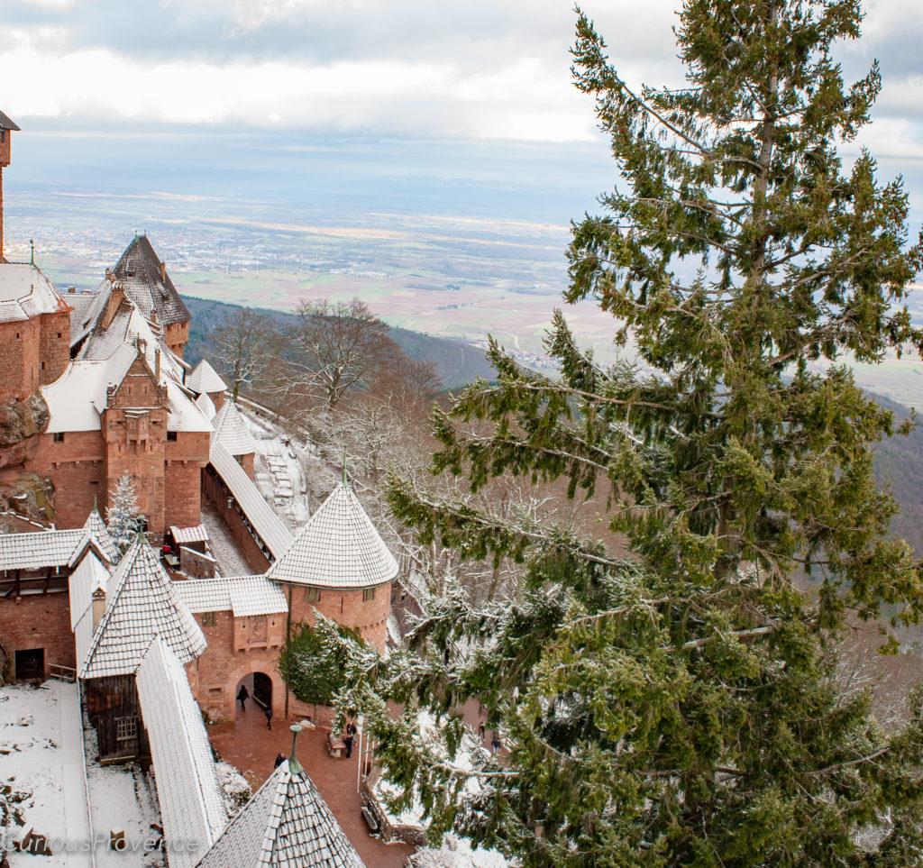Haut-Koenigsbourg Castle curious provence