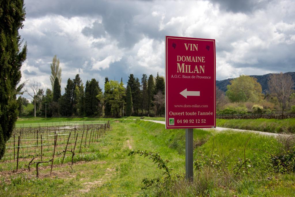 Domaine Henri Milan curious provence