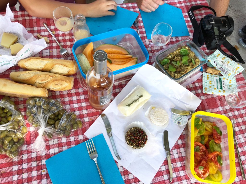 curious provence picnic