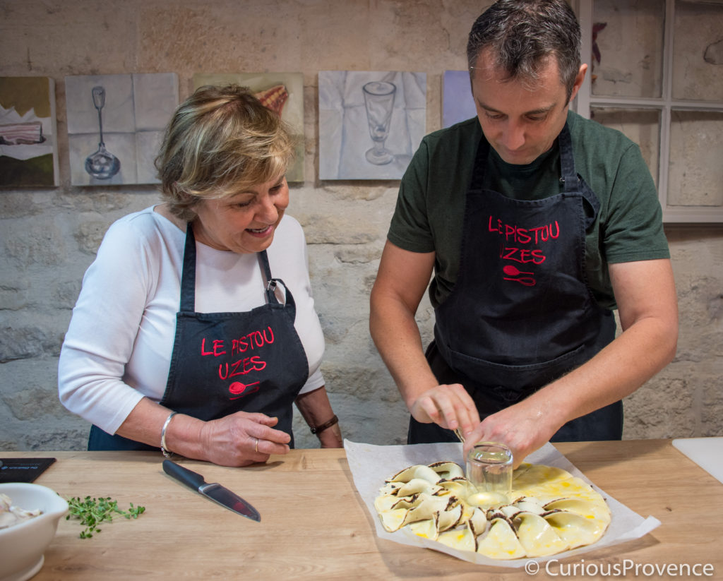 pistou cooking school uzes