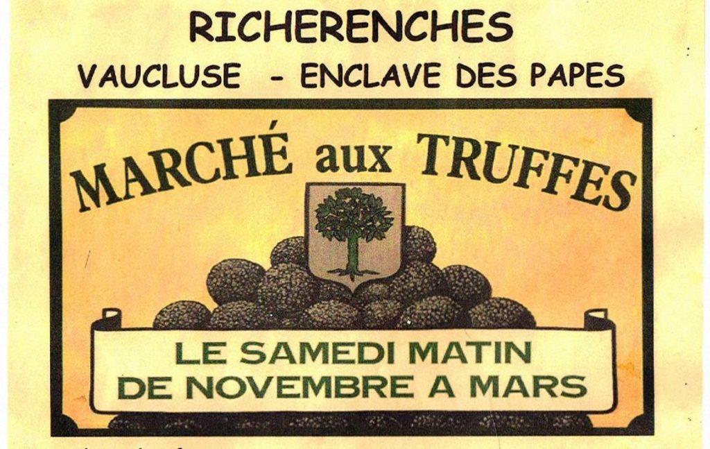 riche ranches marche au truffes