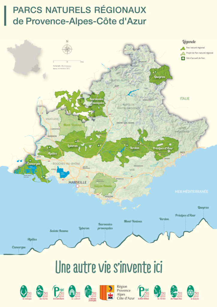 Regional parks of provence