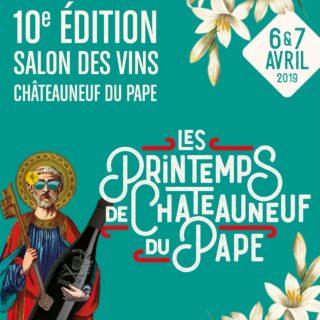 les printemps Châteauneuf-du-Pape du pape