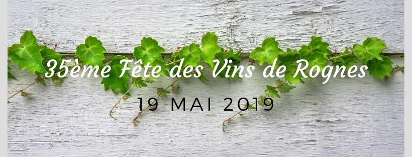 fete des vins de rognes 2019
