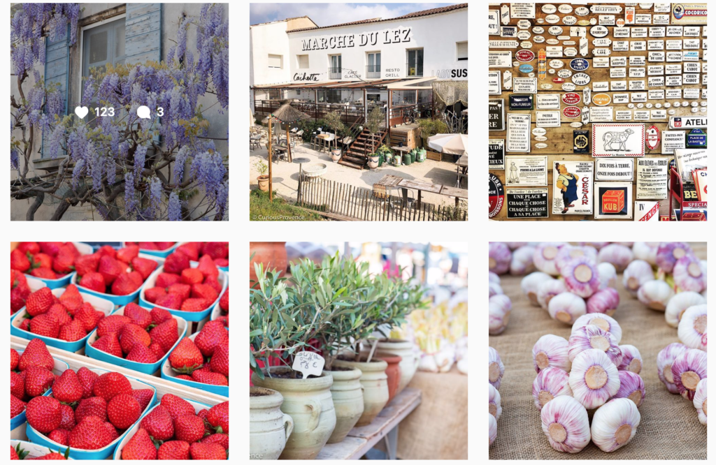 curious provence instagram